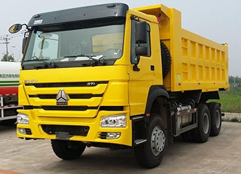 Sinotruk Howo price for Mining Tipper Dumper Truck