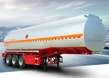 60000 Liters Fuel Oil Tanker Fuel Tank Semi Trailer