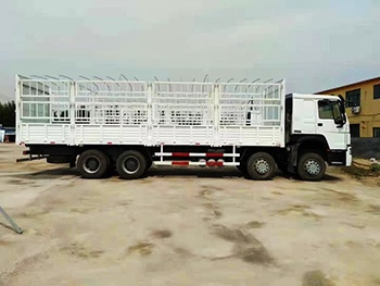 Sinotruk Howo 8x4 31ton Fence Stake Cargo Truck