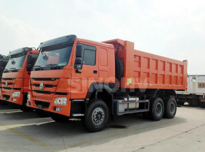sinotruck howo 6x4 dump truck for sale