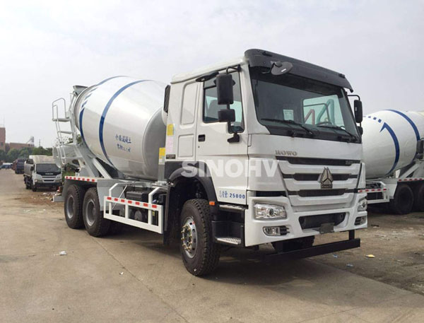 Professional manufacturer concrete mixing truck