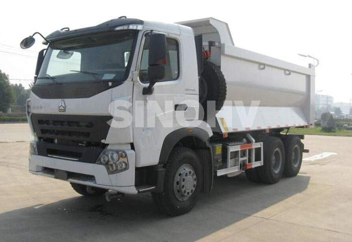 Sinotruck Howo A7 type large capacity 6x4 dump truck