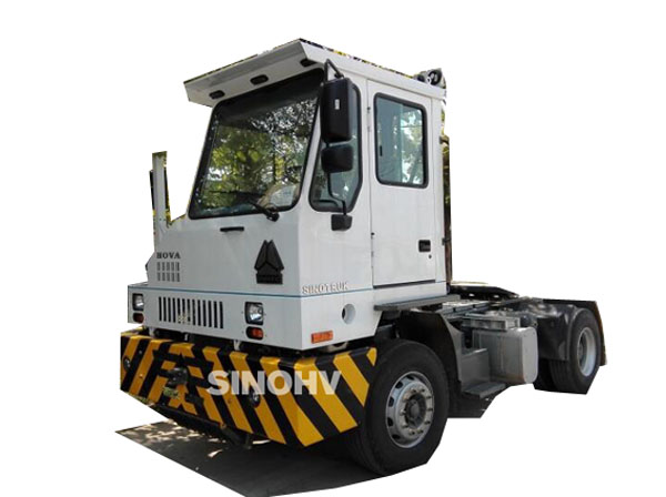 SINOTRUK 40ft container HOVA yard tractor truck