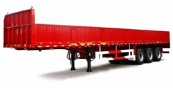 Cheap price 3 axles 40 tons side wall cargo semi trailer