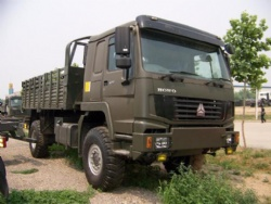 Sinotruk HOWO 4X4 All Wheel Drive Cargo Truck