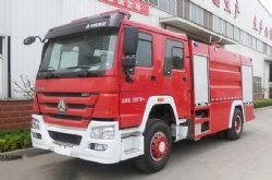 Sinotruk HOWO 6X4  Fire Fighting Truck