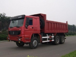 Sinotruk HOWO 6x6 All Wheel Drive Dump Truck