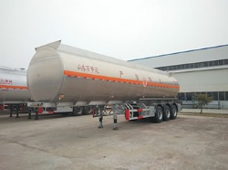 Tri-axles 33000 42000 liters fuel transportation tanker semitrailer