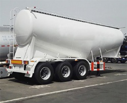 50cbm Bulk Cement Tanker Semi Trailer for Sale