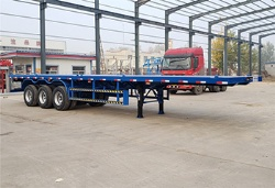 Manufacturer 40ft container trailer and flatbed semi trailer