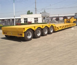 100 ton Lowbed Semi Trailer Trucks