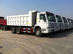 Sino Truck 6x4 Mining Dump Trucks 336hp For Sale