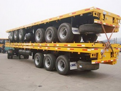 Best Price Flatbed 40ft Semi Trailers For Sale