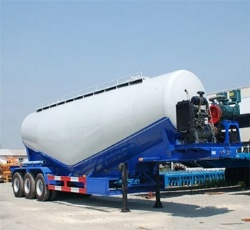 40m3 bulk cement powder tank semi trailer for sale